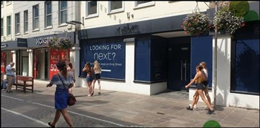 1,126 SF High Street Shop for Rent  |  Unit B, Queensway House, Jersey, JE2 4WD