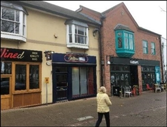 1,076 SF High Street Shop for Rent  |  12 Market, Evesham, WR11 4RW
