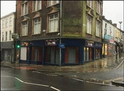 1,065 SF High Street Shop for Rent  |  135 High Street, Stoke On Trent, ST6 5UX