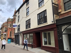 913 SF High Street Shop for Rent  |  39-41 Bridlesmith Gate, Nottingham, NG1 2GN