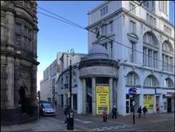 1,191 SF High Street Shop for Rent  |  11/15 High Street (Rear), Sheffield, S1 2GA
