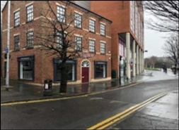 800 SF High Street Shop for Rent  |  Fleet House, Preston, PR1 2UT