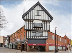 2,249 SF High Street Shop for Rent  |  Unit 3, Chesterfield, S40 1RB