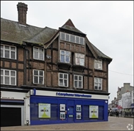 827 SF High Street Shop for Rent  |  29 Market Square, Bromley, BR1 1NF