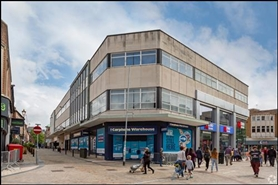 1,420 SF High Street Shop for Rent  |  5 Dudley Street, Wolverhampton, WV1 3EY