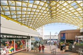 1,004 SF Shopping Centre Unit for Rent  |  Powys House, Cwmbran, NP44 1PB