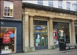 523 SF High Street Shop for Rent  |  Old Market House, Winchester, SO23 9LE