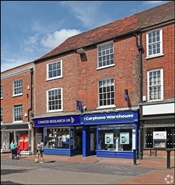 637 SF High Street Shop for Rent  |  Market Chambers, Wokingham, RG40 1AE
