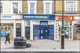 367 SF High Street Shop for Rent  |  60 Queensway, London, W2 3RL