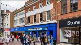 2,342 SF High Street Shop for Rent  |  7 - 7A Tavern Street, Ipswich, IP1 3AA