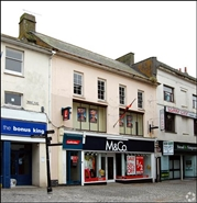 1,831 SF High Street Shop for Rent  |  Upper Floors, Penzance, TR18 2JF