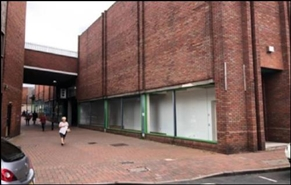 932 SF High Street Shop for Rent  |  Unit 5b, The Forum, Cannock, WS11 1EB