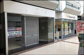 816 SF High Street Shop for Rent  |  Unit 6, The Forum, Cannock, WS11 1EB