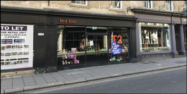 1,004 SF High Street Shop for Rent  |  7 New Bond Street, Bath, BA1 1RG