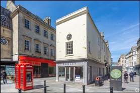 671 SF High Street Shop for Rent  |  8 - 10 Old Bond Street, Bath, BA1 1BW