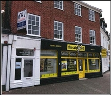1,042 SF High Street Shop for Rent  |  Market Square, Staines, TW18 4QY