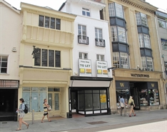 564 SF High Street Shop for Rent  |  47 High Street, Exeter, EX4 3DJ