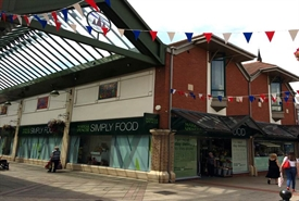 3,423 SF Shopping Centre Unit for Rent  |  16 Bakers Lane, Lichfield, WS13 6NG