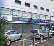 1,313 SF High Street Shop for Rent  |  UNIT 2, 364 - 372 COWBRIDGE ROAD WEST, Cardiff, CF5 5BY