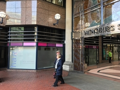 836 SF High Street Shop for Rent  |  Unit 12, Temple Court, The Minories, Birmingham, B4 6AG