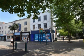 902 SF High Street Shop for Rent  |  19-21 Fore Street, Tiverton, EX16 6LZ