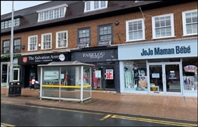 502 SF High Street Shop for Rent  |  14 Water Lane, Wilmslow, SK9 5AA