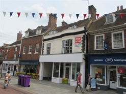 1,675 SF High Street Shop for Rent  |  21 High Street, Hitchin, SG5 1AT