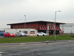 3,650 SF Retail Park Unit for Rent  |  Former F&B, Warrington, WA5 7YA