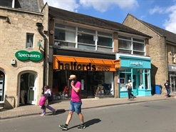 1,193 SF High Street Shop for Rent  |  28A Cricklade Street, Cirencester, GL7 1JH
