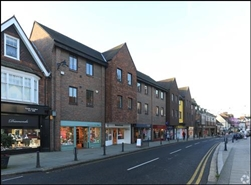 1,266 SF High Street Shop for Rent  |  Priory House, Reigate, RH2 9AE