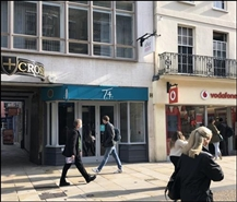 410 SF High Street Shop for Rent  |  Golden Cross Court, Oxford, OX1 3EX