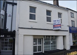 2,292 SF High Street Shop for Sale  |  136 High Street, Newcastle Under Lyme, ST5 1PT