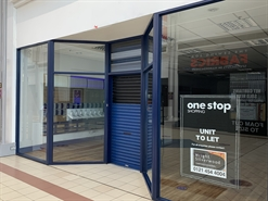 1,662 SF Shopping Centre Unit for Rent  |  Unit 15, One Stop Shopping Centre, Perry Barrr, B42 1AA