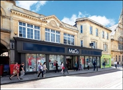 3,467 SF High Street Shop for Rent  |  2 - 3 Silver Street, Trowbridge, BA14 8AA