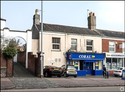 766 SF High Street Shop for Rent  |  43 Fore Street, Exeter, EX1 2QN