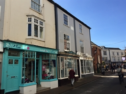 650 SF High Street Shop for Rent  |  5 New Street, Sidmouth, EX10 8AP