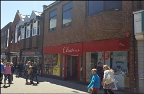 2,307 SF High Street Shop for Rent  |  45 - 47A South Street, Dorchester, DT1 1DQ