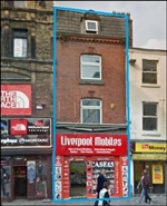 555 SF High Street Shop for Rent  |  7 Richmond Street, Liverpool, L1 1EE