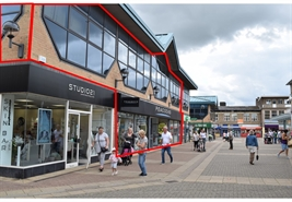 4,824 SF High Street Shop for Rent  |  22-24 New Post Office Square, Corby, NN17 1PB