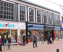 5,346 SF High Street Shop for Sale  |  10-12 Sussex Street, Rhyll, LL18 1SG