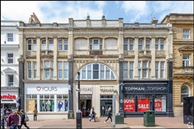 4,060 SF High Street Shop for Rent  |  41 - 43 Old Christchurch Road, Bournemouth, BH1 1DS
