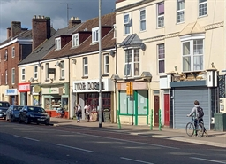 813 SF High Street Shop for Rent  |  155 Cowick Street, Exeter, EX4 1AS